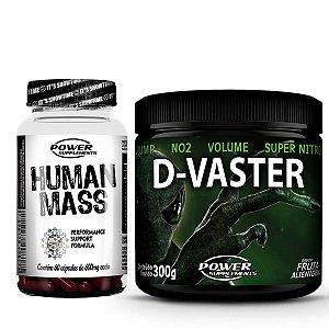 D-Vaster da Power Supplements + Human Mass - ORIGINAL