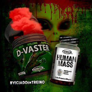 D-Vaster da Power Supplements + Human Mass - ORIGINAL