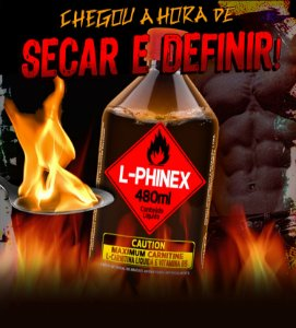 Suplemento Líquido L-Phinex - Power Supplements - Combo com 2 Unidades