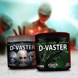 Combo D-Vaster - Ácido Alienígena (150g) + Fruta Alienígena (300g)