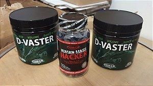 1 Unidade Human Mass Hacker + 2 unidades D-Vaster Fruta Alienígena (300g)