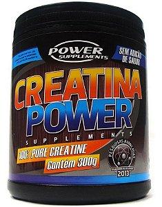 Creatina em Pó (300g) - Power Supplements