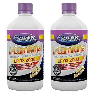 2 (Unidades) L-Carnitina LIP OX 2000 – Power Supplements
