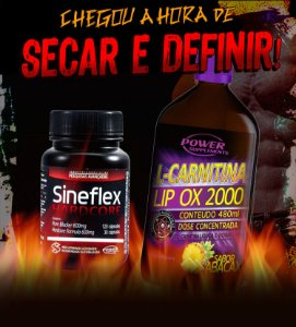 Sineflex Hardcore e L-Carnitina LIP OX 2000