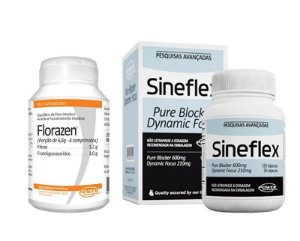 Sineflex e Florazen da Power Supplements