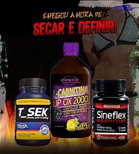 Sineflex Hardcore, L-Carnitina LIP OX 2000 e T_Sek