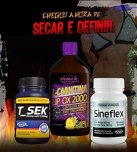 Sineflex, T_Sek e L-Phinex - Combo Definição Total