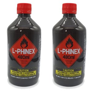 2 L-Carnitinas L-Phinex da Power Supplements Preço Promocional!