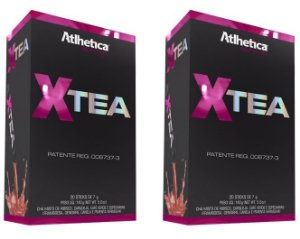 Combo Xtea Atlhetica - 2 Caixas (Totalizando 40 sticks)