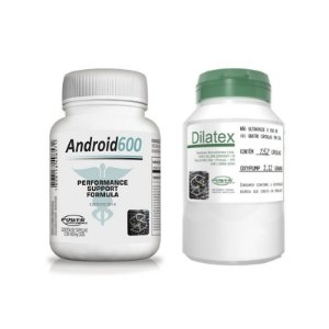 Android600 e Dilatex - Combo da Power Supplements