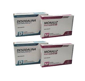 Comprar Emagrecedor Desodalina e Inibidor de Apetite Monaliz Meu Controle - 2 CAIXAS DE CADA!!!