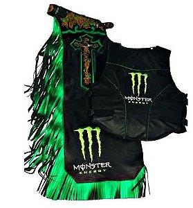 Kit Calça e Colete Personalizado Monster