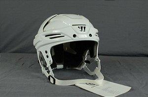 Capacete de hockey sem grade branco