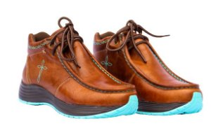 Bota Tênis Country Feminino Vimar Boots Caramelo
