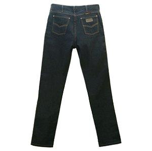Calça Jeans Masculina Cowboy Winner Preta Tradicional Lonada