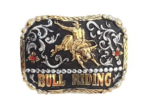 Fivela Master Bull Riding