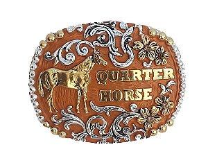 Fivela  Master Quarter Horse com Strass