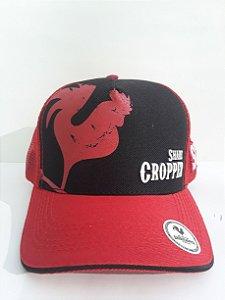 Boné Share Cropper trucker Original Vermelho