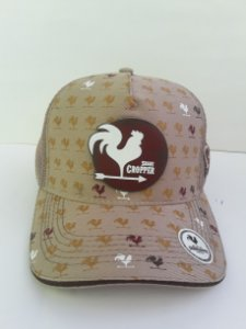 Boné Share Cropper trucker Original Bege