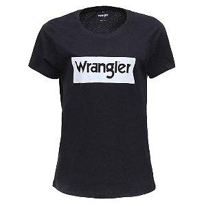 Camiseta  Wrangler Feminina Preta Original