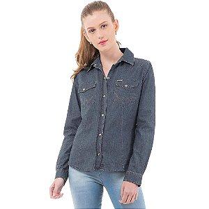 Camisa Jeans Wrangler Feminina Original