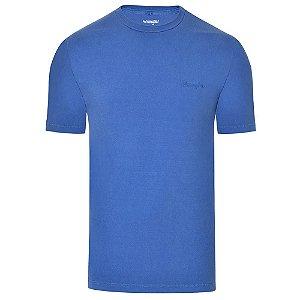 Camiseta Wrangler Masculina Azul Original