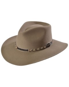 Chapéu country stetson 4X DRIFTER BUFFALO WOOL PINCH
