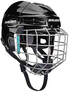 capacete bauer ims 5.0 com grade