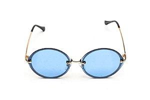 Neo Fashion Azul Redondo Metal- 27607