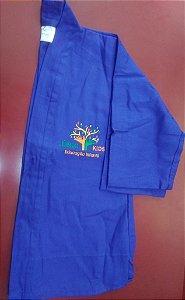 Kimono azul, calça e blusa, Jubilo Kids