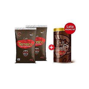 Café Terreiro Kit Numa Latinha Amor