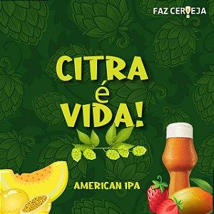 Kit Citra é Vida! - American IPA