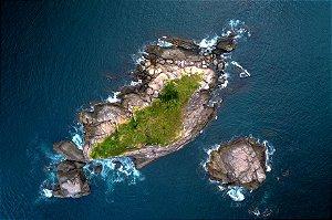 Quadro Decorativo Ilha dos Coqueiros