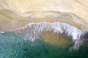 Quadro Decorativo Areia e Mar