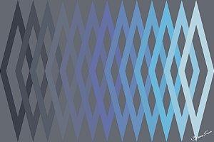 Quadro Decorativo Geometrico Cinza