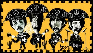 Quadro Decorativo Beatles