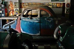 Quadro Decorativo Garagem de Carro