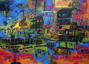 Quadro Decorativo Favelas
