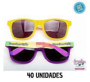 Óculos Personalizado Multicolor -   40  unidades