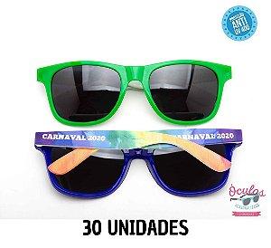 Óculos Personalizado Multicolor -       30 unidades