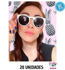 Óculos Personalizado Estilo - 20 unidades