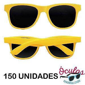 Óculos para festa Standard Liso - 150 unidades
