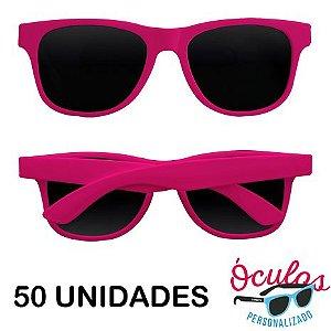 Óculos para festa Standard liso - 50 unidades