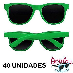 Óculos para festa Standard Liso - 40 unidades