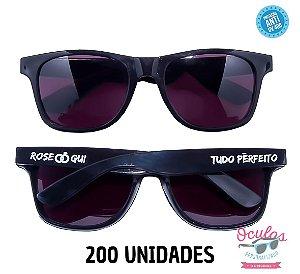 Óculos Personalizado Standard - 200 unidades
