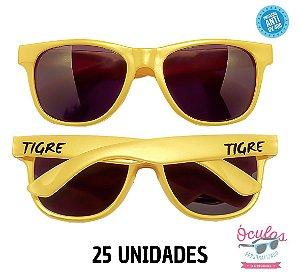 Óculos Personalizado Standard - 25 unidades