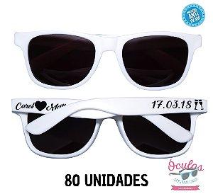 Óculos Personalizado Standard - 80 unidades