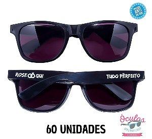 Óculos Personalizado Standard - 60 unidades