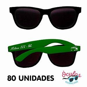 Óculos Personalizado Standard MIX - 80 unidades