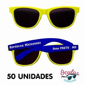 Óculos Personalizado Standard Mix - 50 unidades
